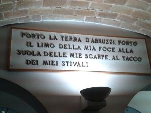 Birthplace Gabriele D'Annunzio Pescara, Italy